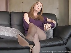 high heel sex : sexy busty babes